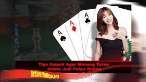 Tips Ampu Mengatasi Emosi Dalam Poker Online